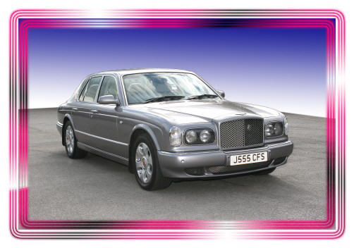 Silver Bentley Arnage for hire